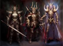 Cavaleiros de Ouro medievais fantasia mascara da morte de Câncer Aldebaran de Touro Mu de Áries