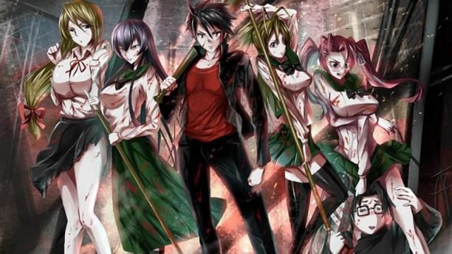 Highschool of the dead melhores animes