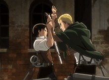 Levi e Erwin Smith shingeki no kyojin no regrets