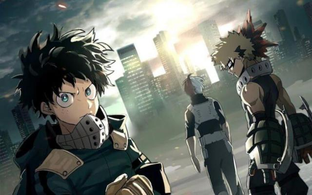 My hero academia boku no hero academia animes 2018