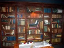 Bücherregal im Restaurant Zum Sielkrug (Endphase)