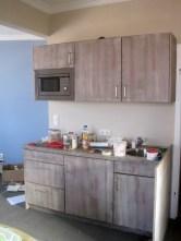Einbauküchengestaltung während der Umbauphase