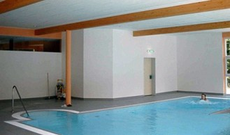 Schwimmbad Morada Hotel in Alexisbad - Entstehungsphase