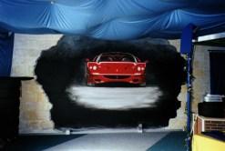 Ferrariwerbung - Autohaus in Berenbostel