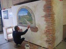 G A F A Regionalschau 2012 - Wandgestaltung live