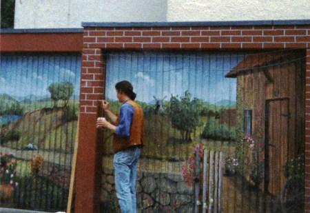 Garagentormalerei