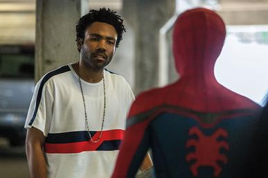 Donald Glover as Aaron Davis Spider-Man Homecoming Marvel MCU