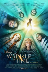 Wrinkle in Time poster disney