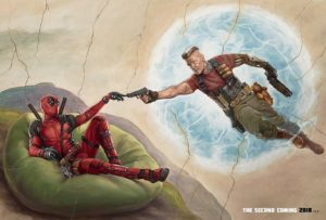 Deadpool 2 poster Cable