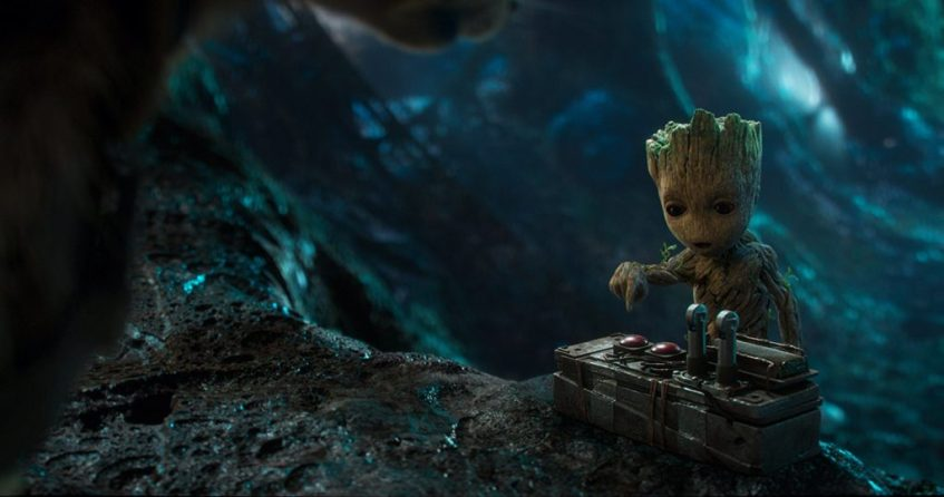 Baby Groot Guardians of the Galaxy 2