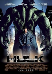 The Incredible Hulk Poster 2008