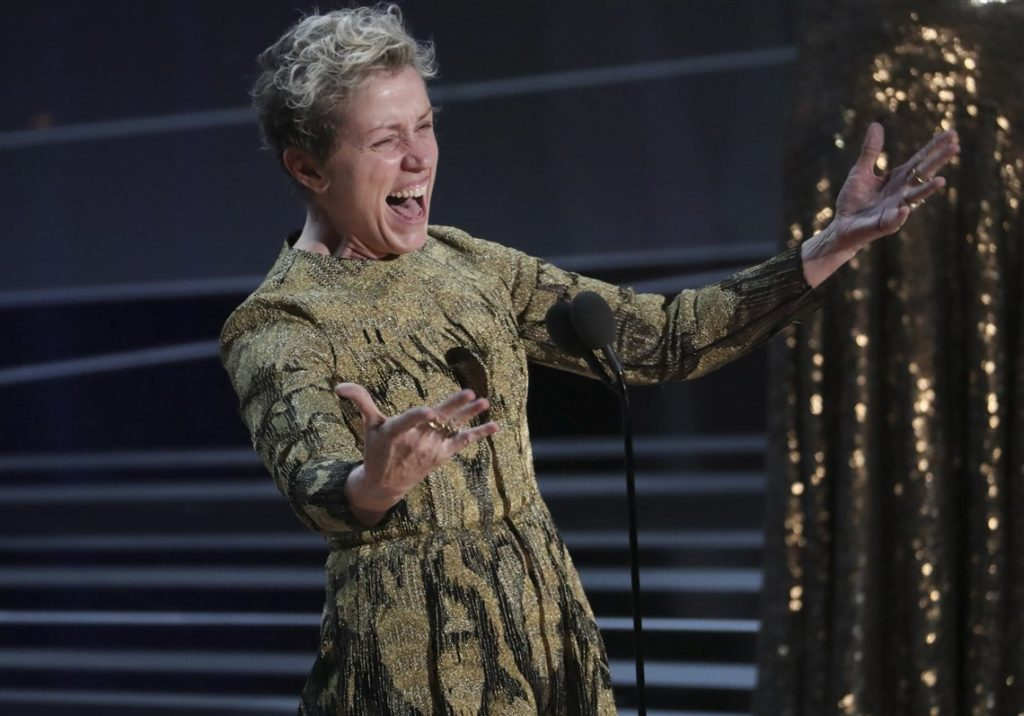 Frances McDormand at The 90th Academy Awards 2018