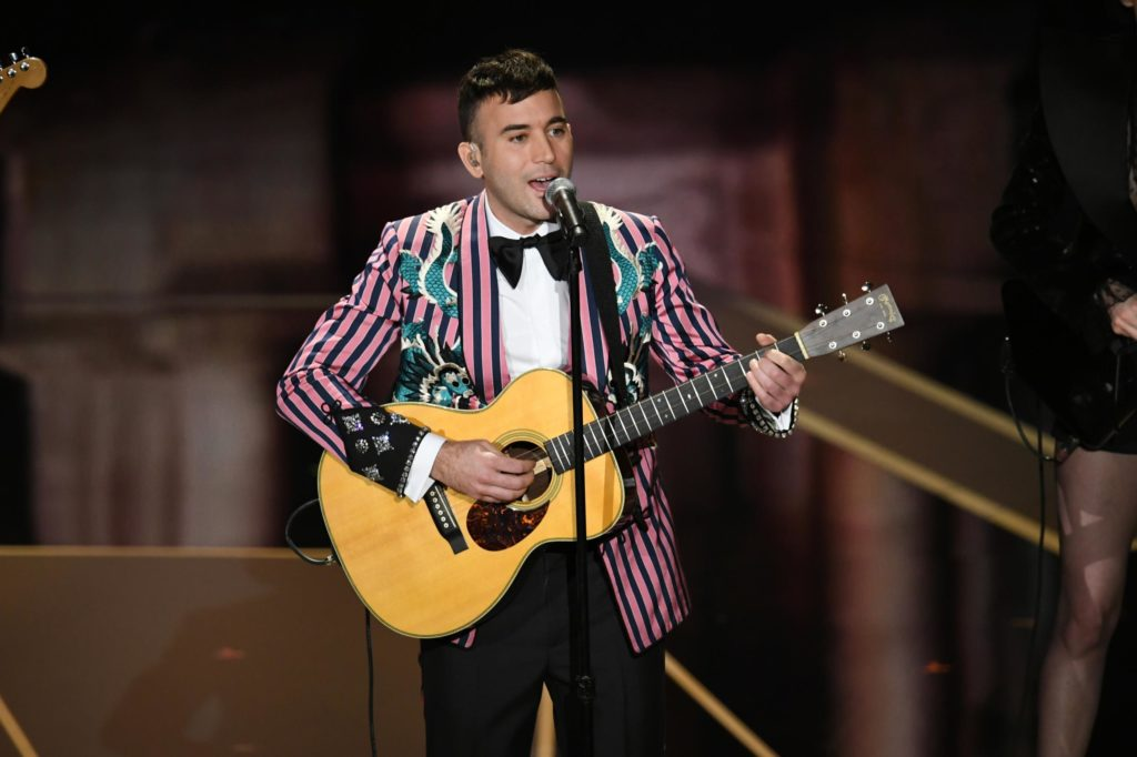 Sufjan Stevens performing Mystery of Love at The 90th Academy Awards 2018