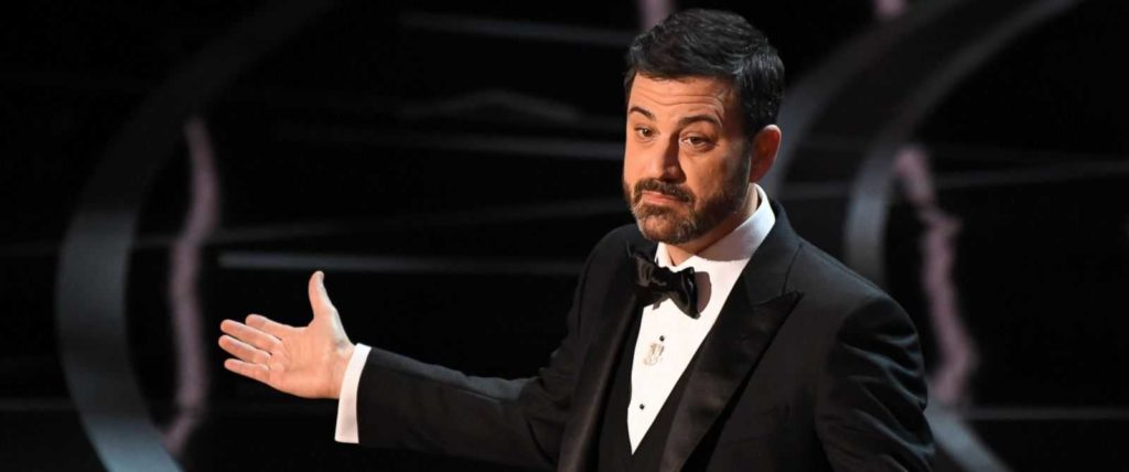 Jimmy Kimmel at the 90th Academy Awards