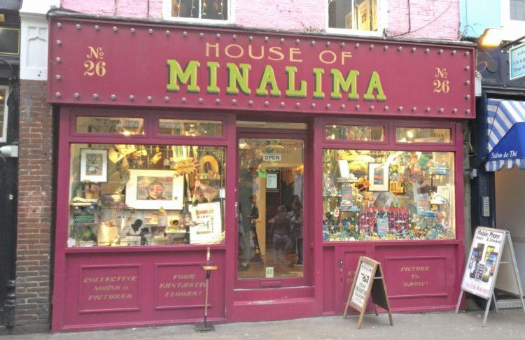 house of minalima harry potter themed london