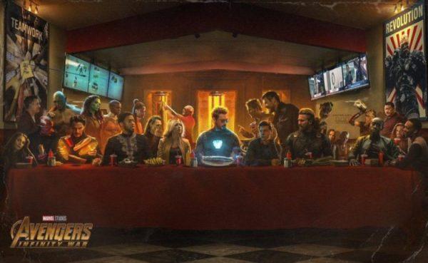avengers infinity war boss logic fanart