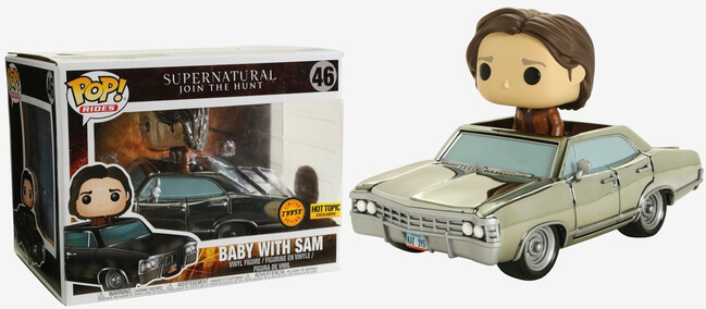 Sam Winchester with Baby /Impala Funko Pop; Supernatural