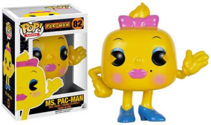 Ms Pac-Man Funko Pop