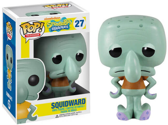 Squidward Funko Pop Spongebob Squarepants
