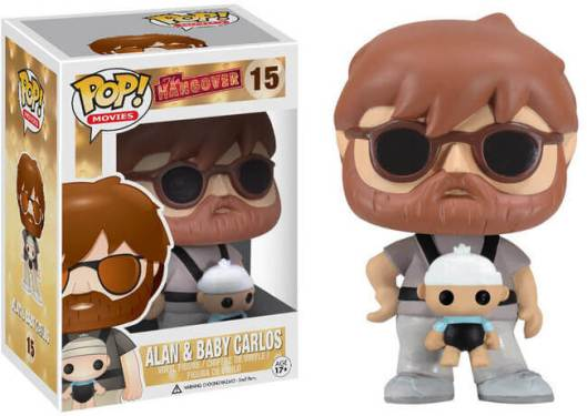 Alan and Baby Carlos Funko Pop The Hangover