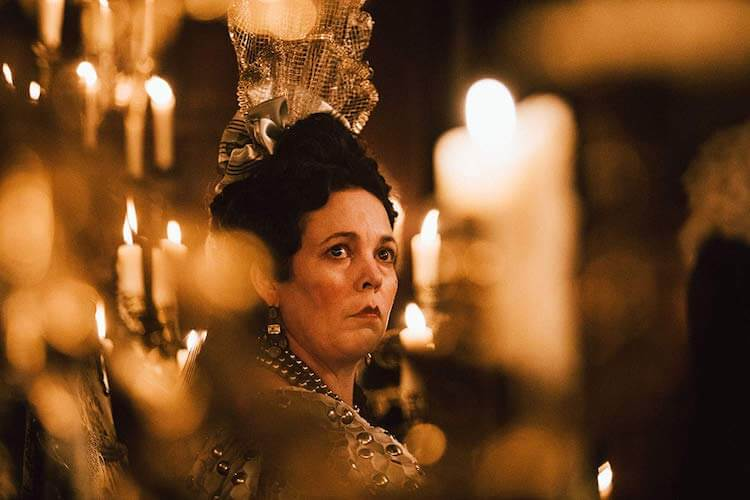 Olivia Colman - The Favourite (2018) directed by Yorgos Lanthimos