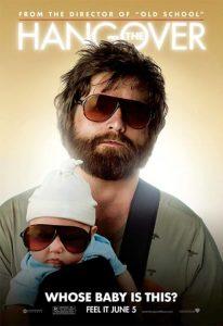 The Hangover 2009 poster Zack Galifianakis
