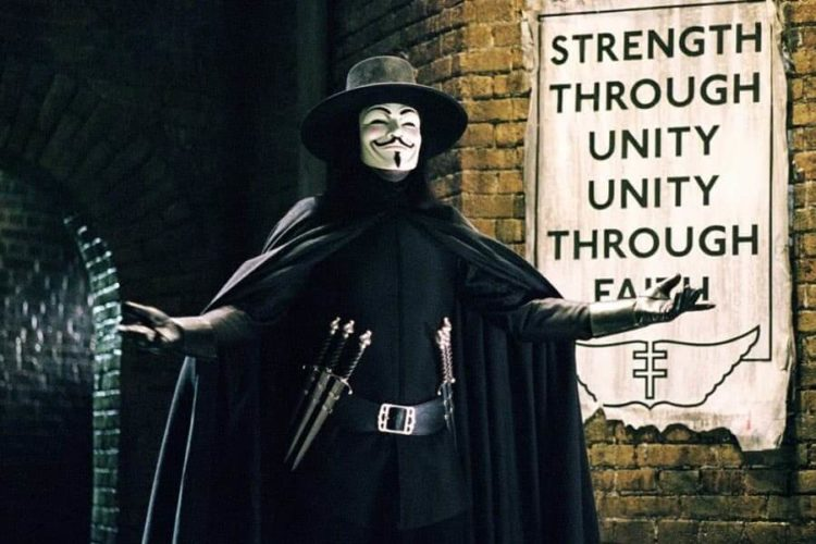V for Vendetta 2005 Hugo Weaving James McTeigue