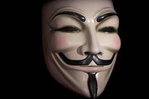 Mask from V for Vendetta 2005 James McTeigue
