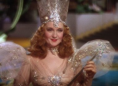 Billie Burke as Glinda The Good Witch from Wizard of Oz (1939) dir. Victor Fleming