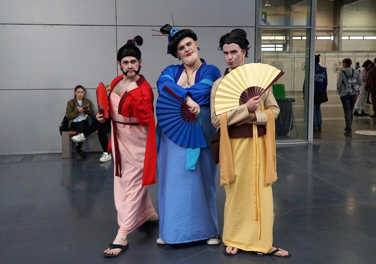 Mulan cosplay Pyrkon 2019