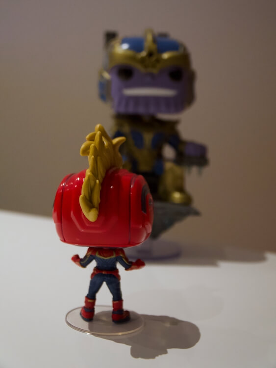 Captain Marvel Funko Pop Thanos Marvel MCU