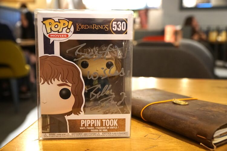 Billy Boyd Autographed Pippin Took Funko Pop
