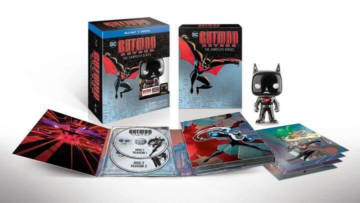 Batman Beyond disc box release - SDCC 2019