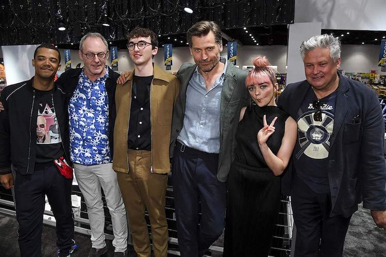 Game of Thrones cast at SDCC 2019