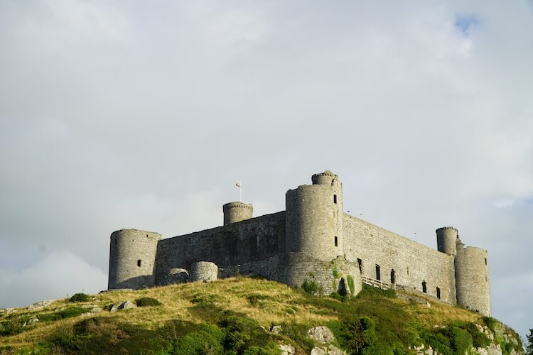 Harlech castle, North Wales