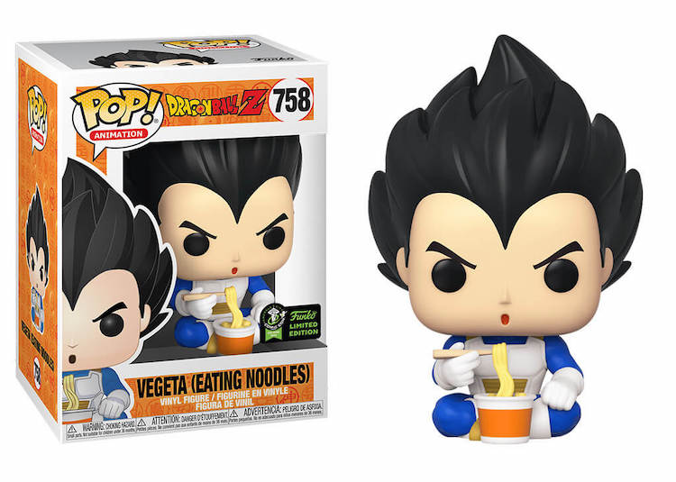 Vegeta Funko Pop ECCC 2020 Exclusive