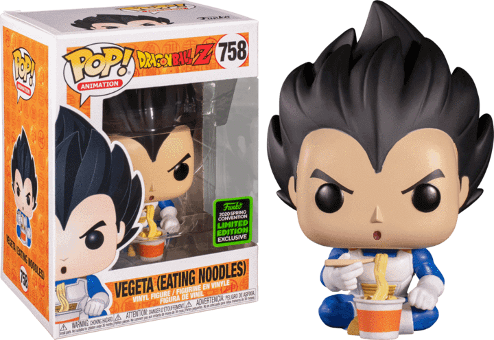Vegeta Funko Pop ECCC Shared Exclusive
