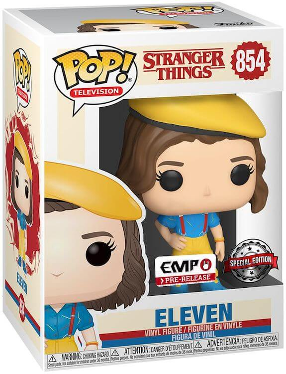Eleven Funko Pop Emp Pre-Relase Exclusive