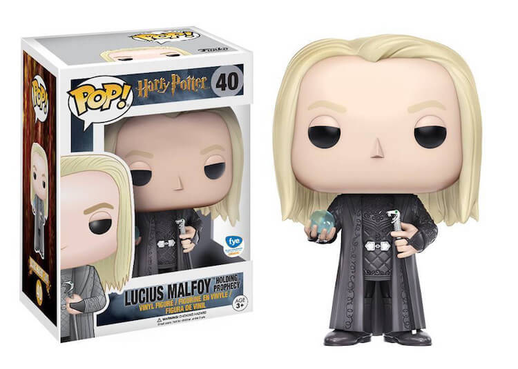 Lucius Malfoy Funko Pop Fye Exclusive
