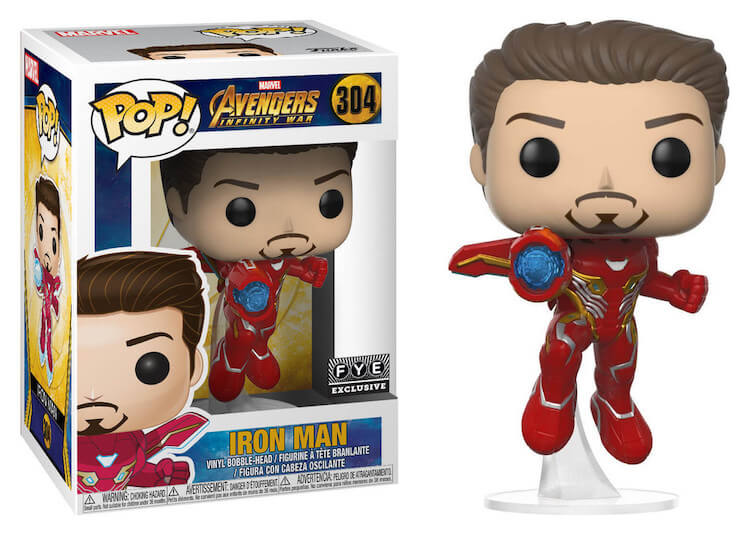 Iron Man Funko Pop Fye Exclusive