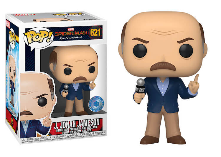 Jonah J Jameson Funko Pop Pop in a Box Exclusive