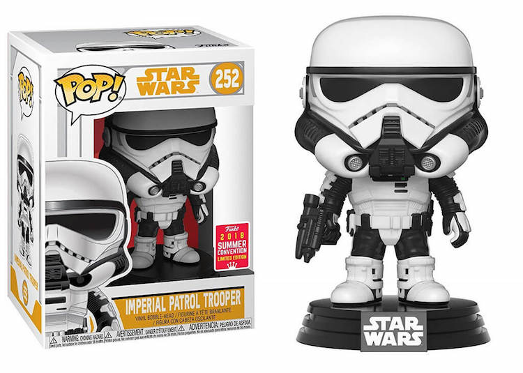 Trooper Funko Pop SDCC Shared Exclusive
