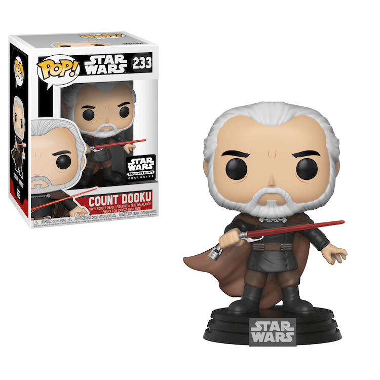 Count Dooku Funko Pop Smugglers Bounty Exclusive
