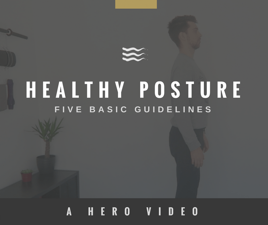 HERO Movement FOUNDATION SERIES Healthy Posture FIVE BASIC GUIDELINES