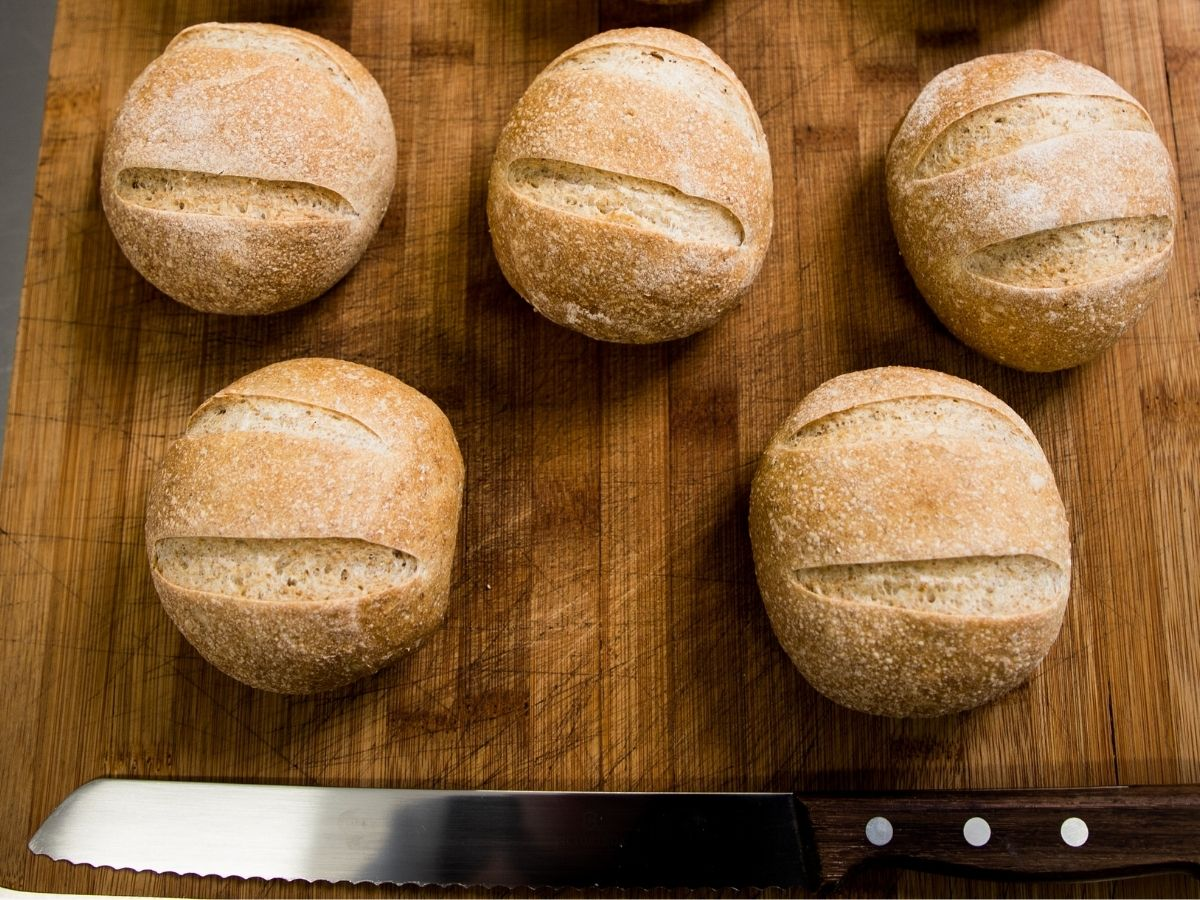 6×4 Simple wholemeal rolls v2.0