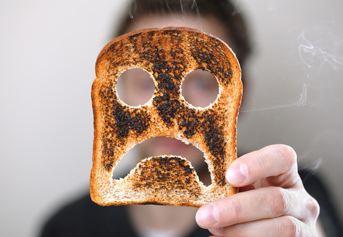 The Secret to Finding Joy When You Feel Like Burnt Toast