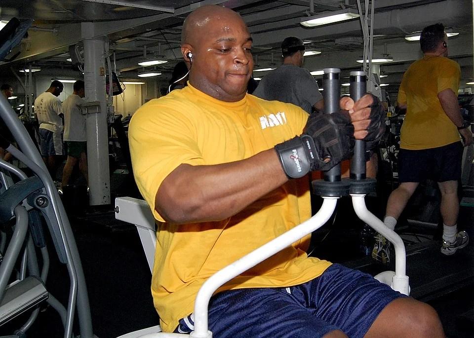 Des gants de fitness pour sportif