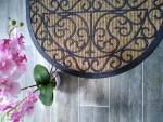 Le tapis coco rond : la fibre naturelle se met à vos pieds