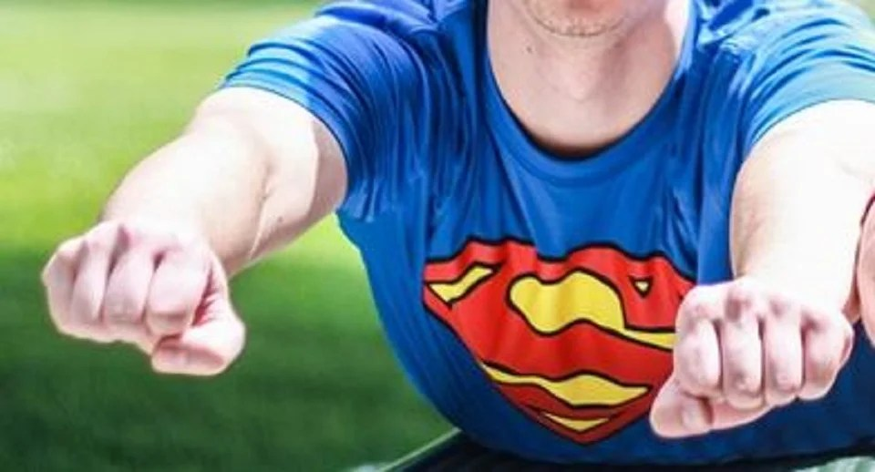 t-shirt de super-héros