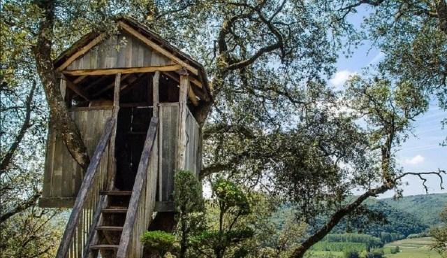 La cabane, le rêve absolu des enfants